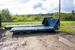 Black Flatbed and Blue flatbed with beavertail